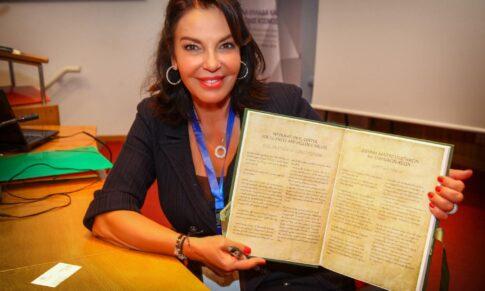 Η κυρία Κ. Παναγοπούλου Πρέσβυς καλής θελήσεως του ΕΟΠΕ