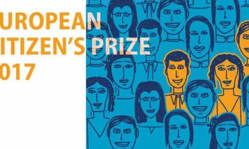 Τελετή βράβευσης της κας Παναγοπούλου στις Βρυξέλλες