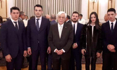 Στο Προεδρικό Μέγαρο με τον ΠτΔ