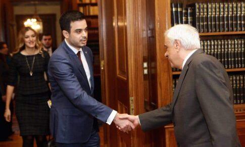 ΔΤ – Επίσημη Συνάντηση με την Α.Ε. στο Προεδρικό Μέγαρο