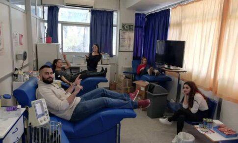 Εθελοντική αιμοδοσία ΕΟΠΕ στο Ρέθυμνο