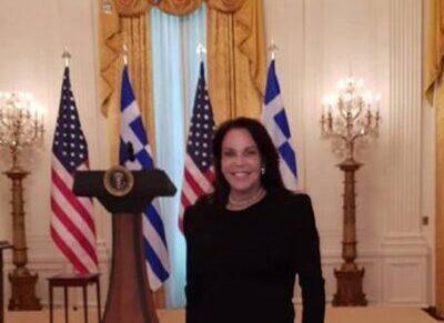 Καλεσμένη του Αμερικανού Προέδρου η Κατερίνα Παναγοπούλου