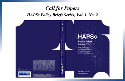 CALL FOR PAPERS – HAPSc Policy Briefs Series, vol 1, no 2