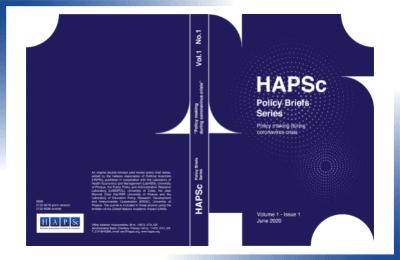 HAPSc Policy Briefs Series 1(1)