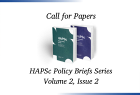 Call for Papers – HAPSc Policy Briefs Series 2(2)